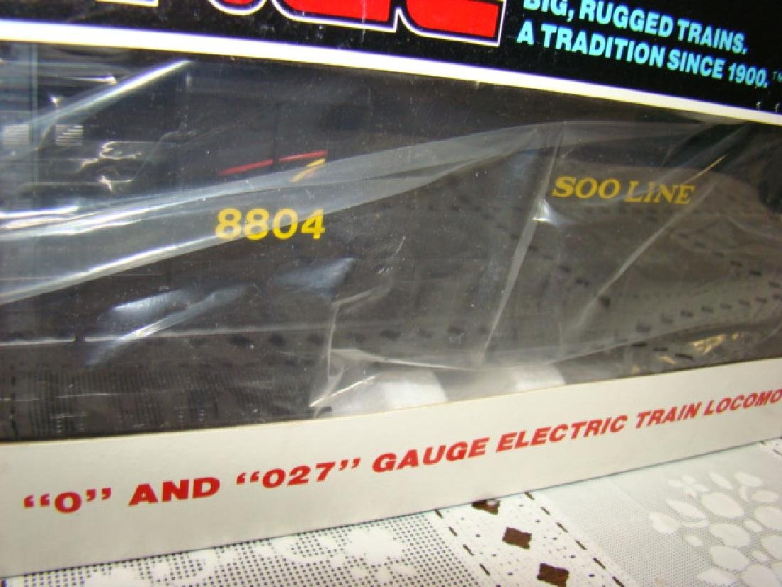 LIONEL 027 GAUGE LOCOMOTIVE SOO LINE RS-3 DIESEL 6 - 3