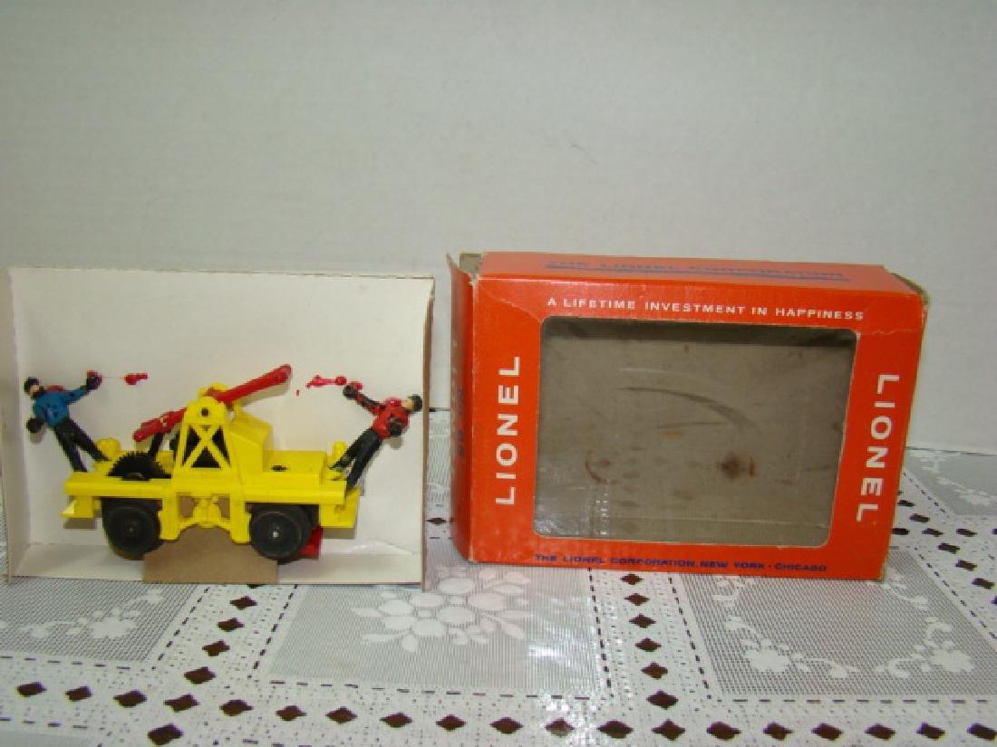 LIONEL O SCALE MOTORIZED HAND CAR - IN ORIGINAL BOX