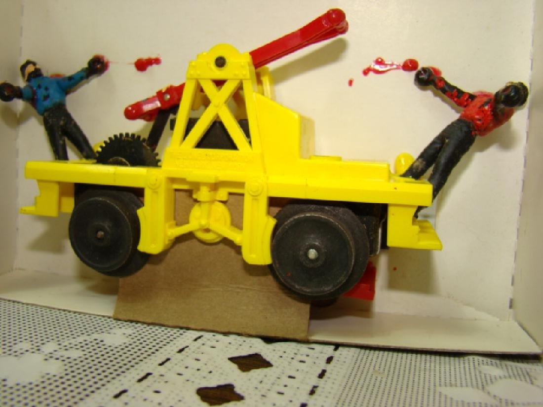 LIONEL O SCALE MOTORIZED HAND CAR - IN ORIGINAL BOX - 3