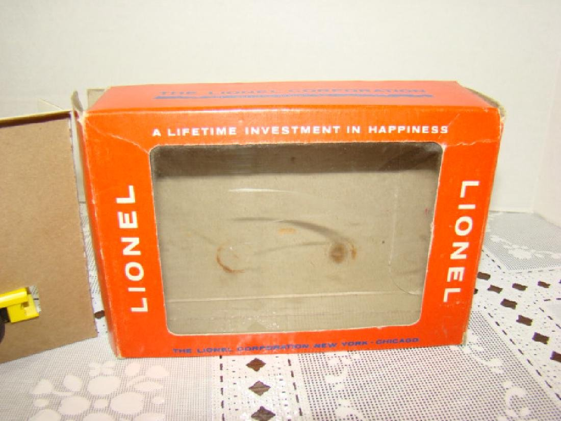 LIONEL O SCALE MOTORIZED HAND CAR - IN ORIGINAL BOX - 5