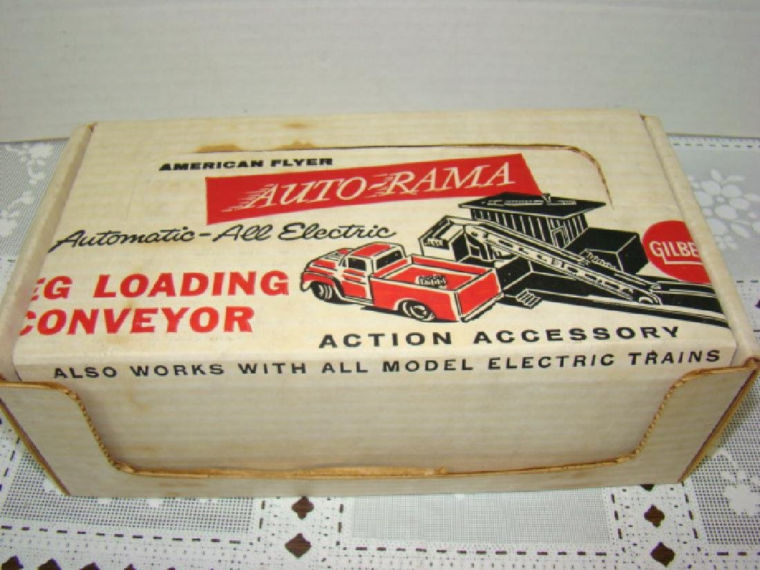 AMERICAN FLYER AUTO-RAMA & TRAIN KEG LOADING CONVE - 2