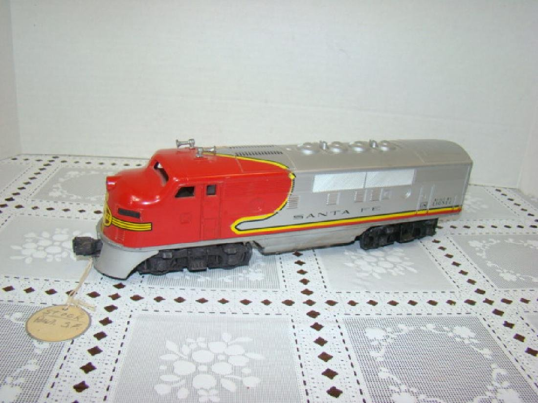 LIONEL SANTA FE ENGINE - NO. 2383