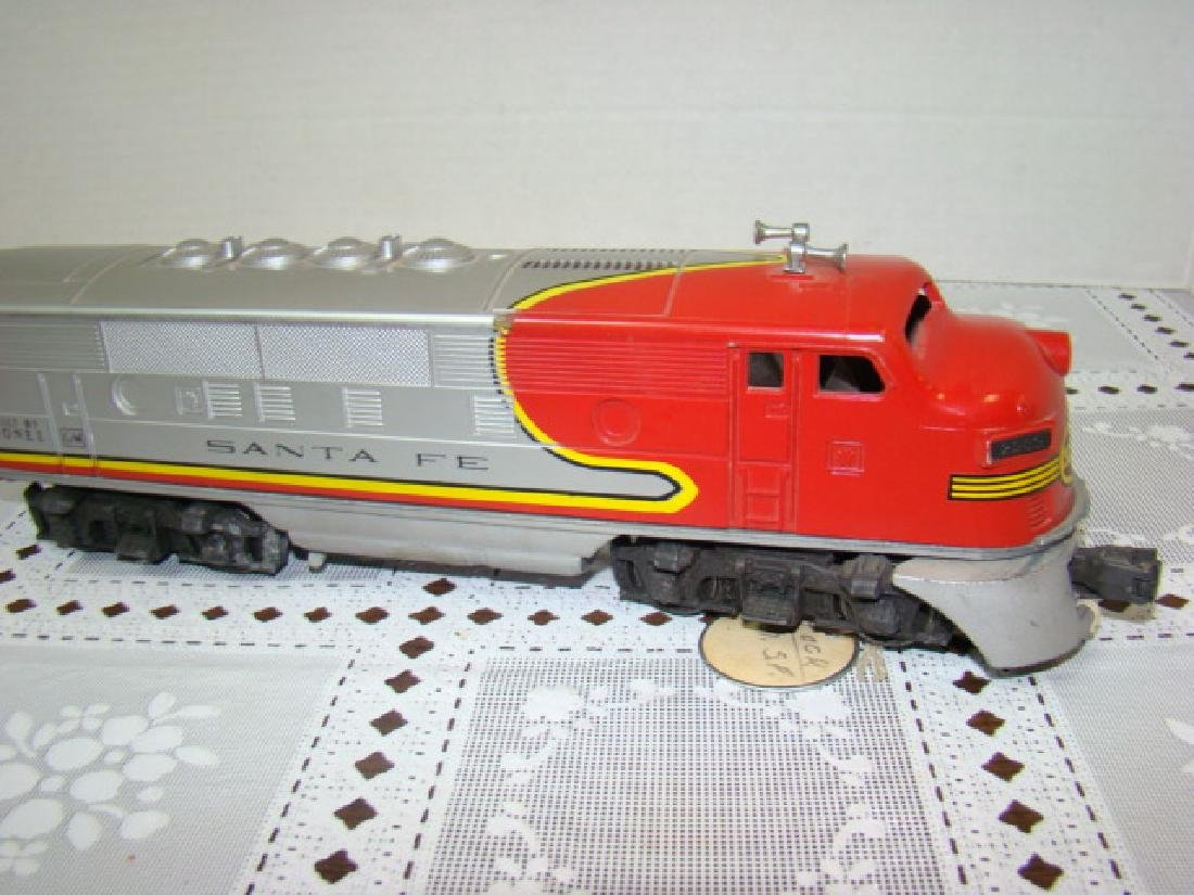 LIONEL SANTA FE ENGINE - NO. 2383 - 5