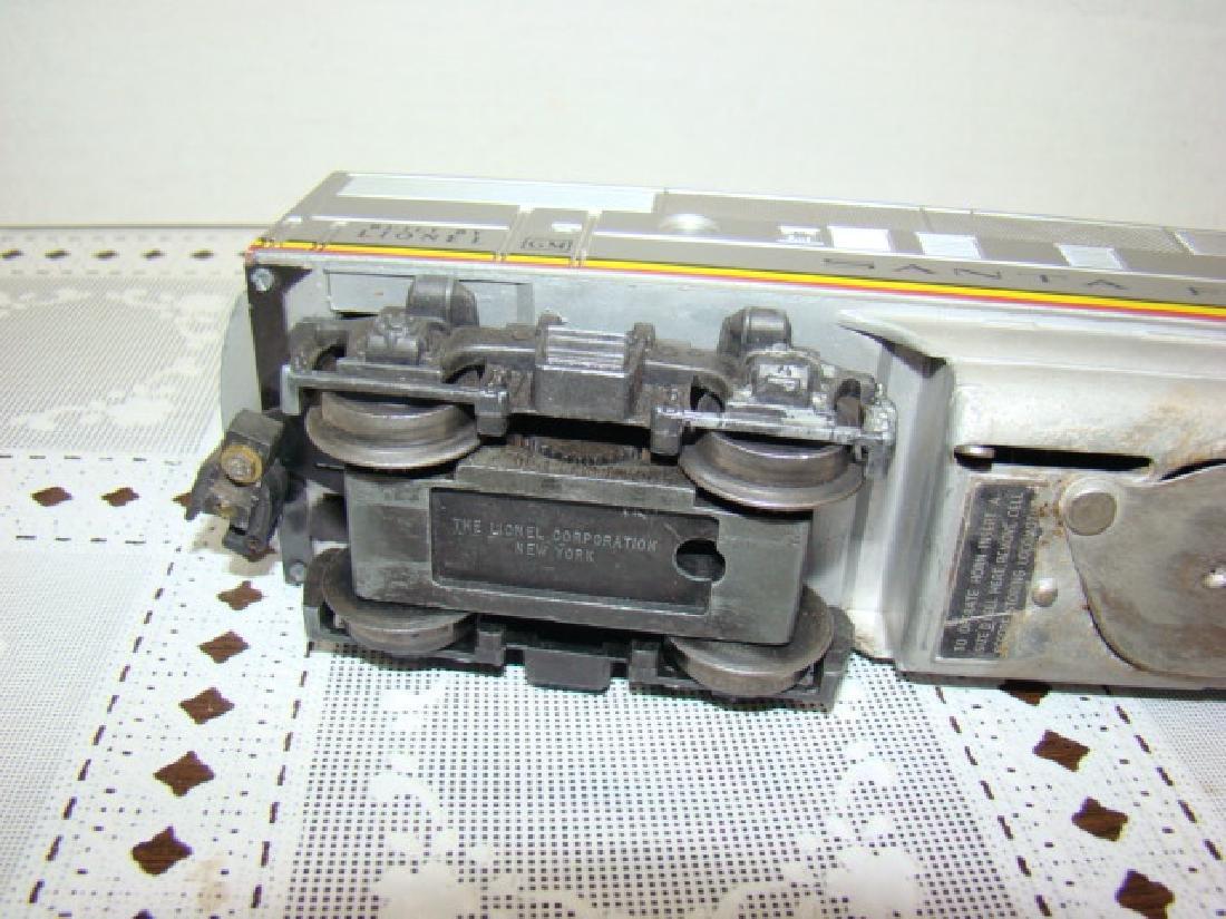LIONEL SANTA FE ENGINE - NO. 2383 - 7