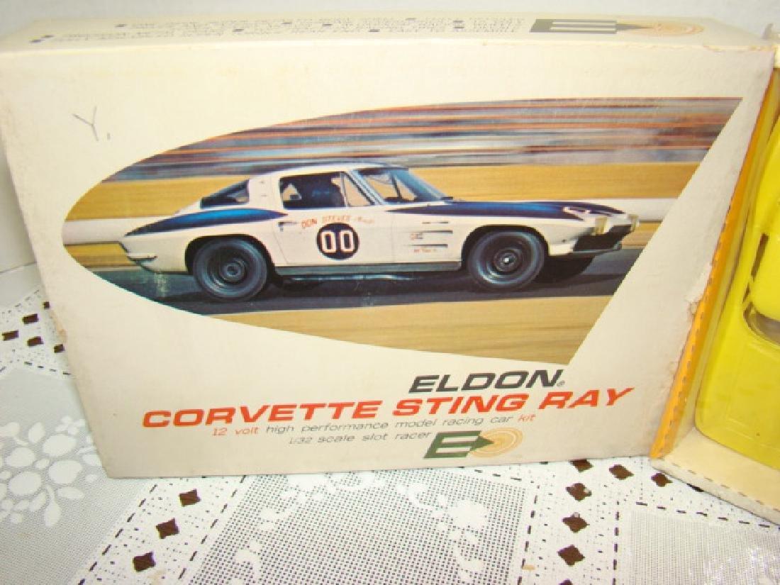 ELDON SLOT CAR - CORVETTE STING RAY - NIB - 2