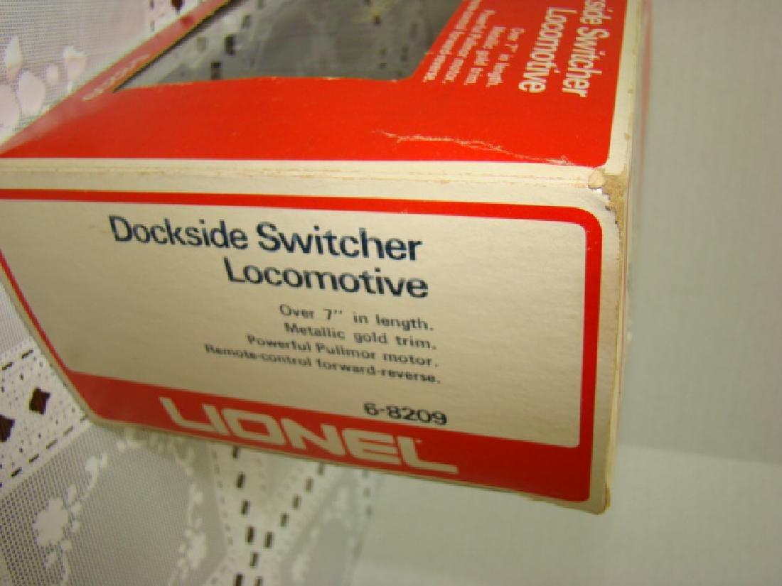 LIONEL DOCKSIDE SWITCHER LOCOMOTIVE IN ORIGINAL BO - 4
