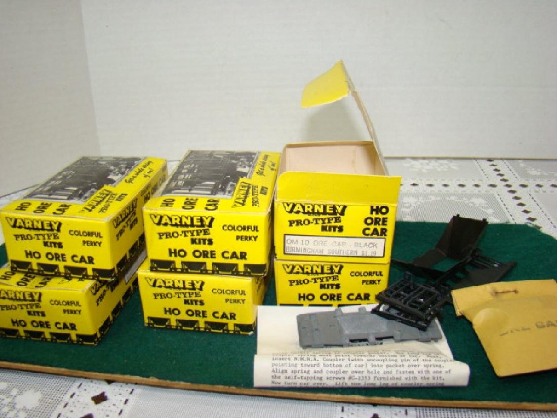 6 VARNEY ORE CAR KITS- BIRMINGHAM SOUTHERN-NEW OLD