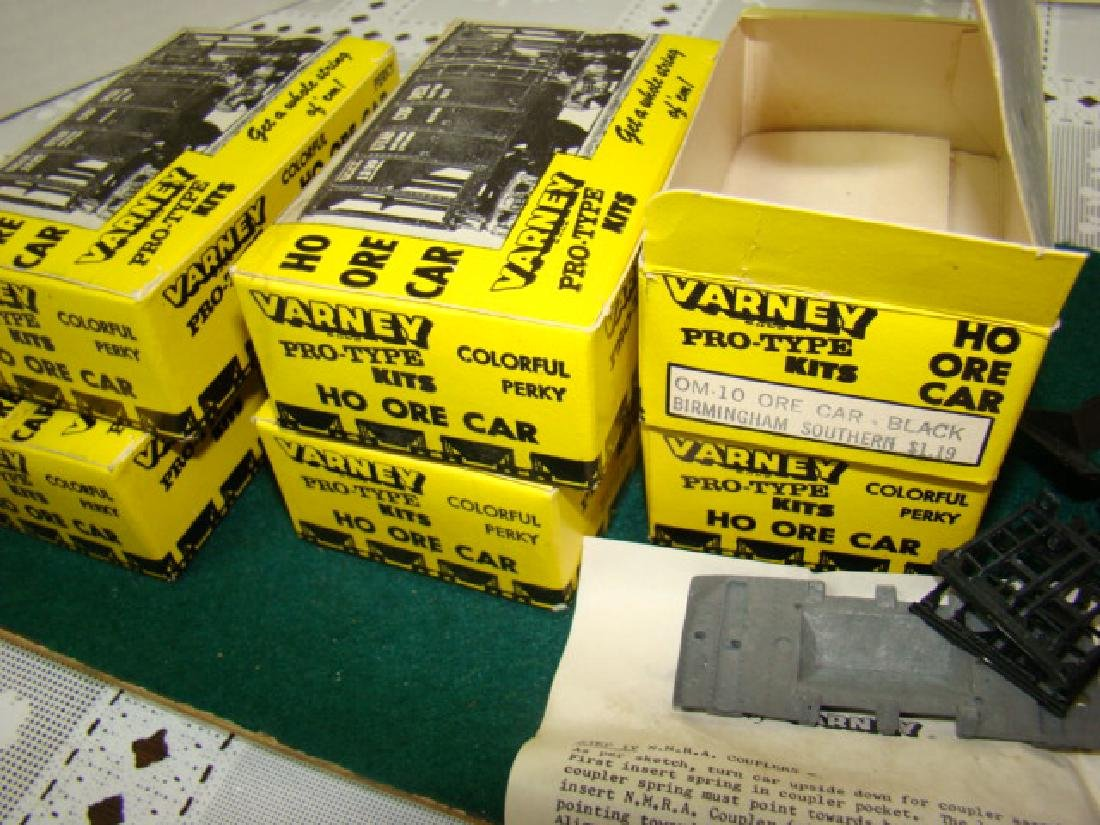 6 VARNEY ORE CAR KITS- BIRMINGHAM SOUTHERN-NEW OLD - 3