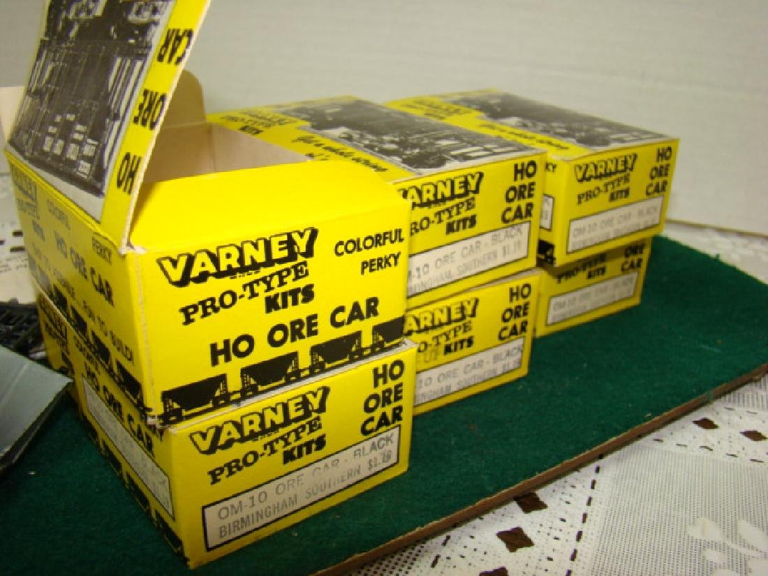 6 VARNEY ORE CAR KITS- BIRMINGHAM SOUTHERN-NEW OLD - 4