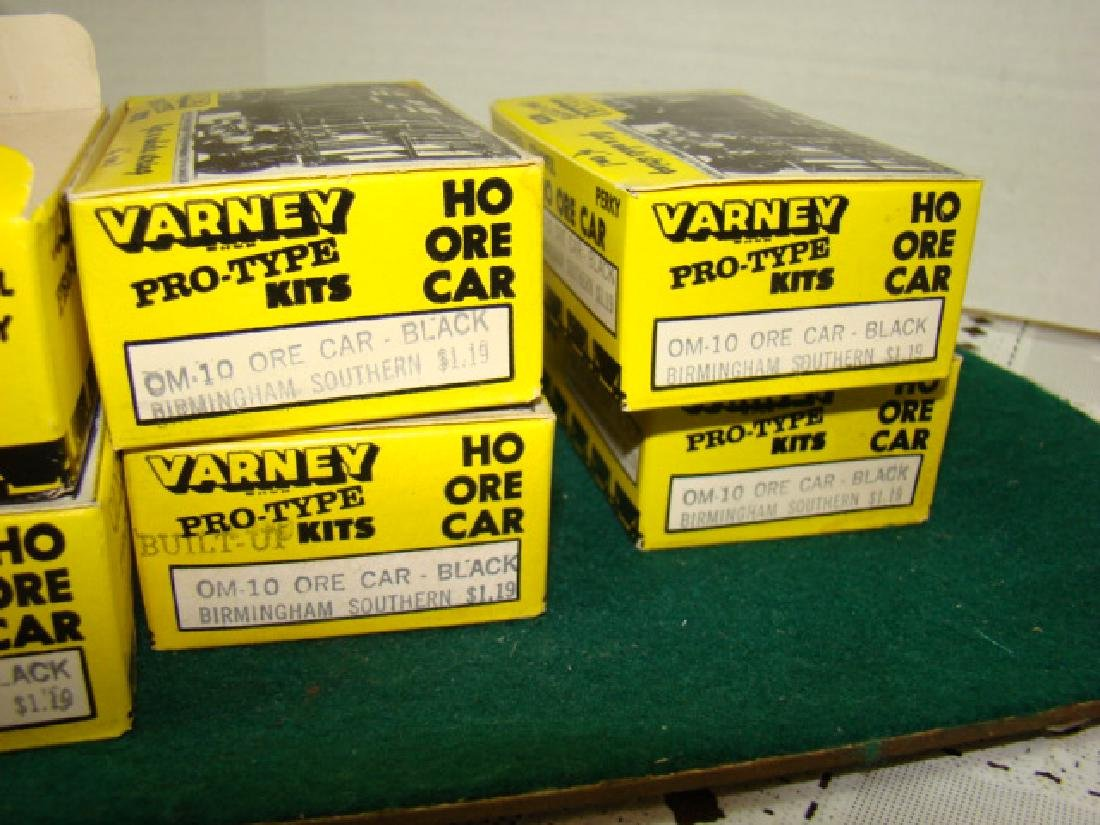 6 VARNEY ORE CAR KITS- BIRMINGHAM SOUTHERN-NEW OLD - 5