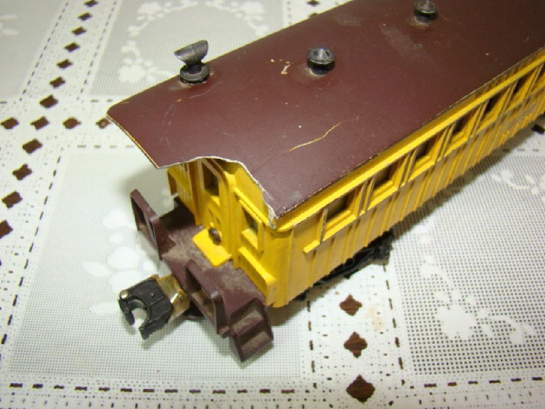 TWO AMERICAN FLYER FLAT CAR WITH LOGS - C & N.W.RY - 4