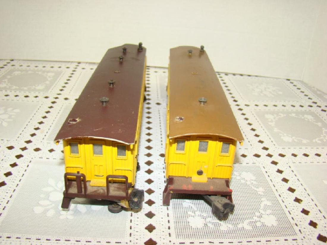 TWO AMERICAN FLYER FLAT CAR WITH LOGS - C & N.W.RY - 5