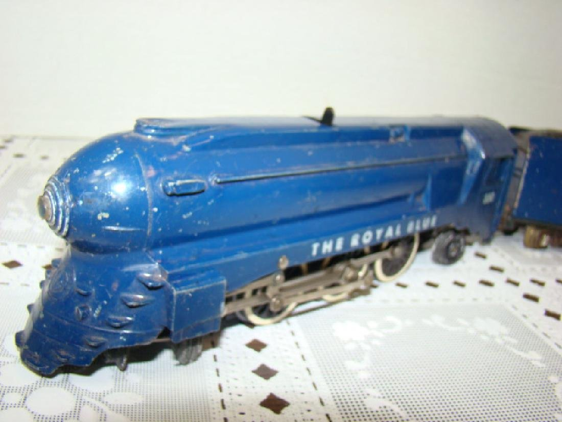 AMERICAN FLYER ROYAL BLUE STEAM LOCOMOTIVE & TENDE - 2