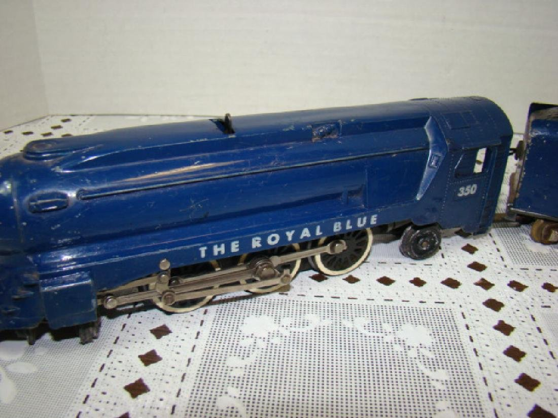 AMERICAN FLYER ROYAL BLUE STEAM LOCOMOTIVE & TENDE - 3