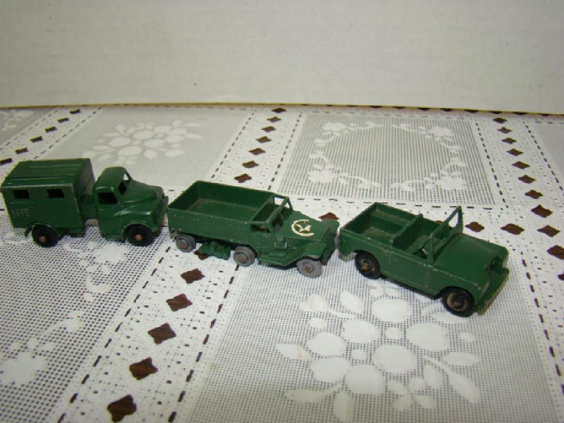 3 LENSEY TOY METAL MILITARY VEHICLES