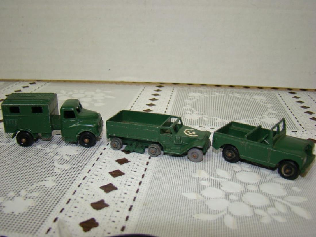 3 LENSEY TOY METAL MILITARY VEHICLES - 2