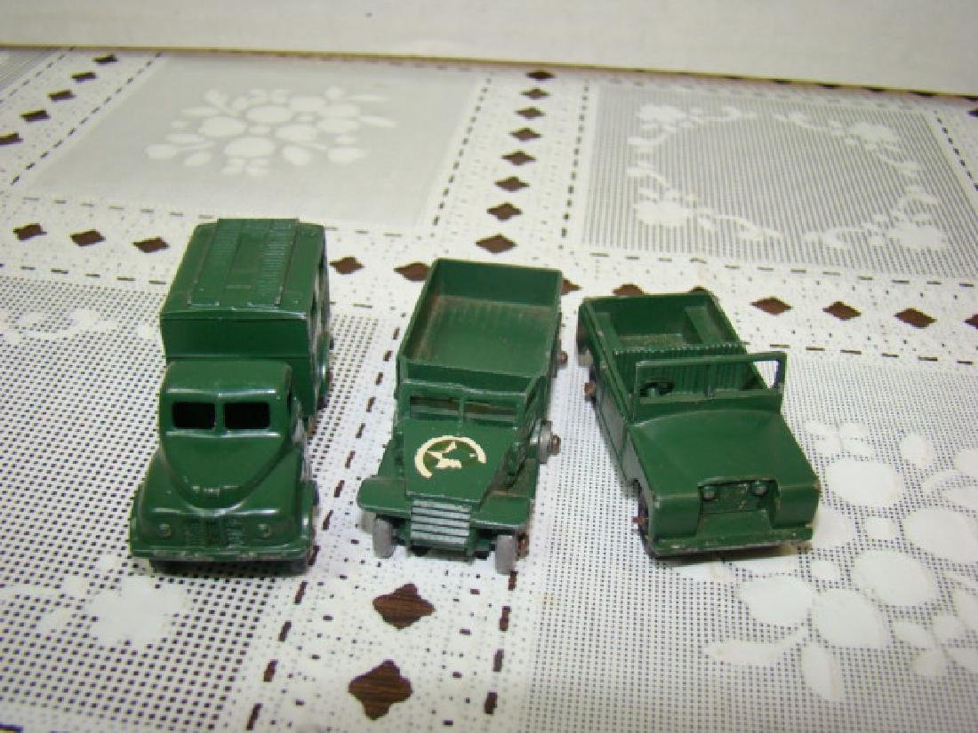3 LENSEY TOY METAL MILITARY VEHICLES - 3