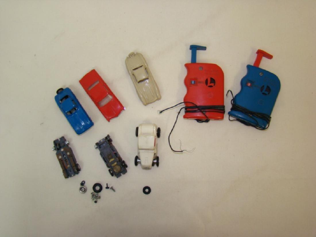 LIONEL HO SLOT CAR RACERS & CONTROLLERS