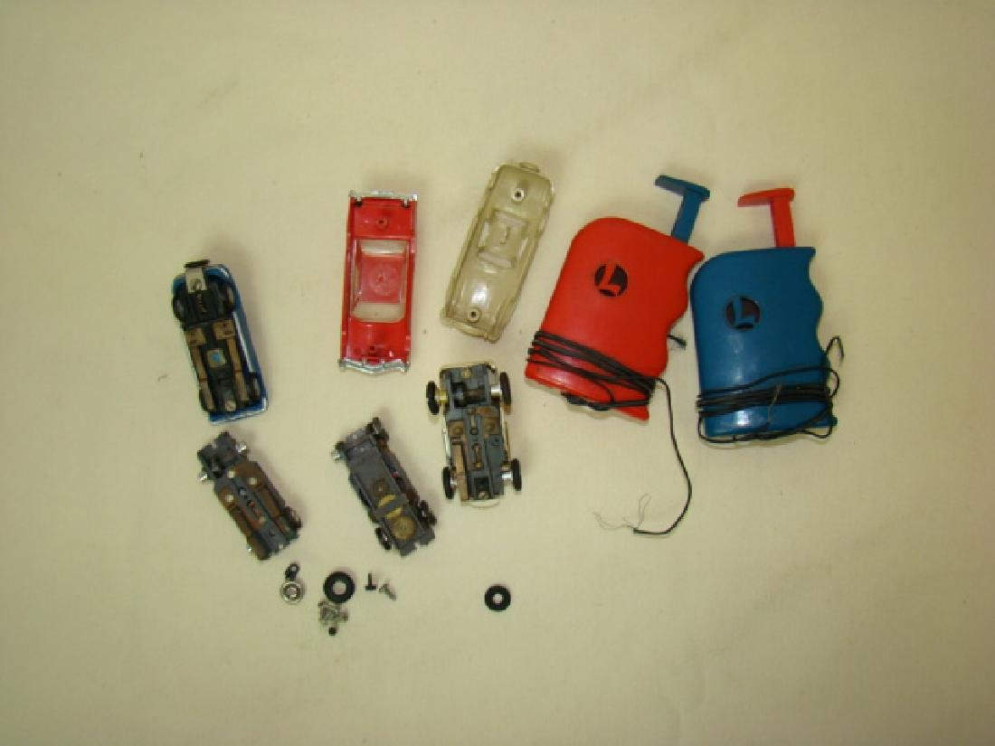LIONEL HO SLOT CAR RACERS & CONTROLLERS - 3