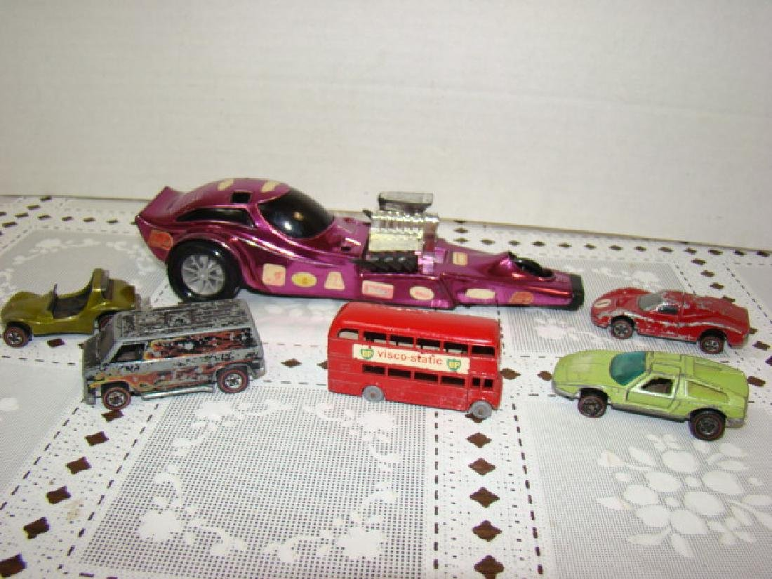 VINTAGE RED LINE HOT WHEELS AND MORE