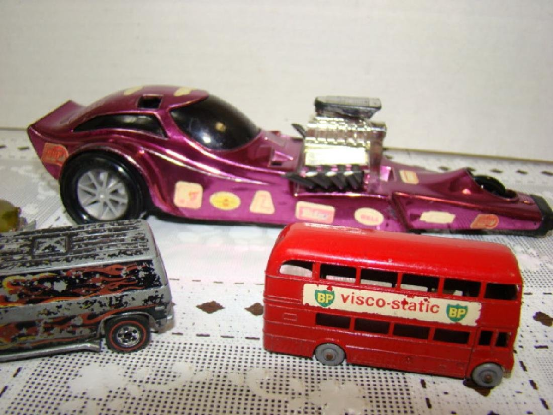VINTAGE RED LINE HOT WHEELS AND MORE - 3