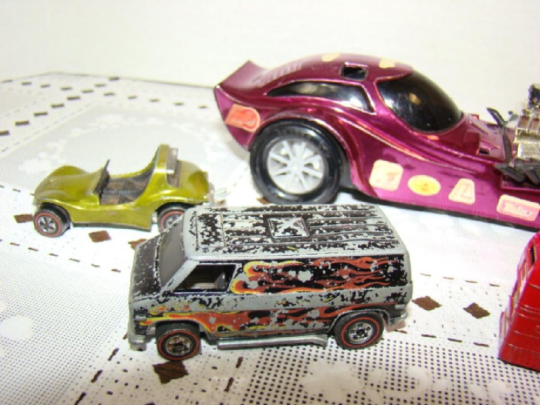 VINTAGE RED LINE HOT WHEELS AND MORE - 4