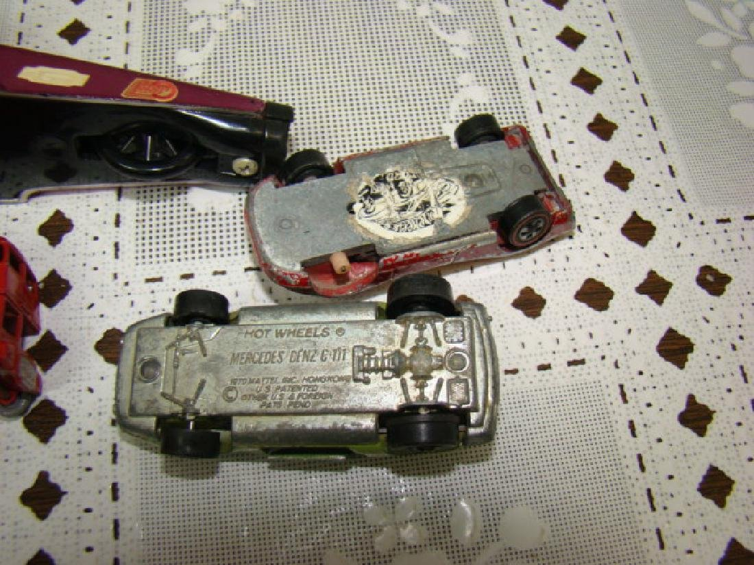 VINTAGE RED LINE HOT WHEELS AND MORE - 5