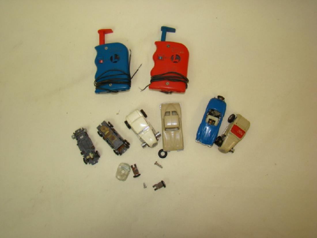 HO LIONEL SLOT CAR RACERS & CONTROLLERS