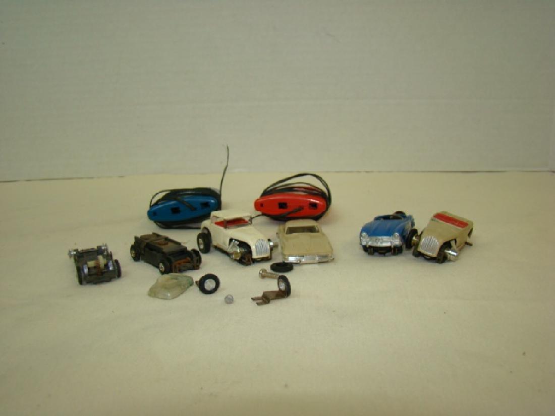 HO LIONEL SLOT CAR RACERS & CONTROLLERS - 2
