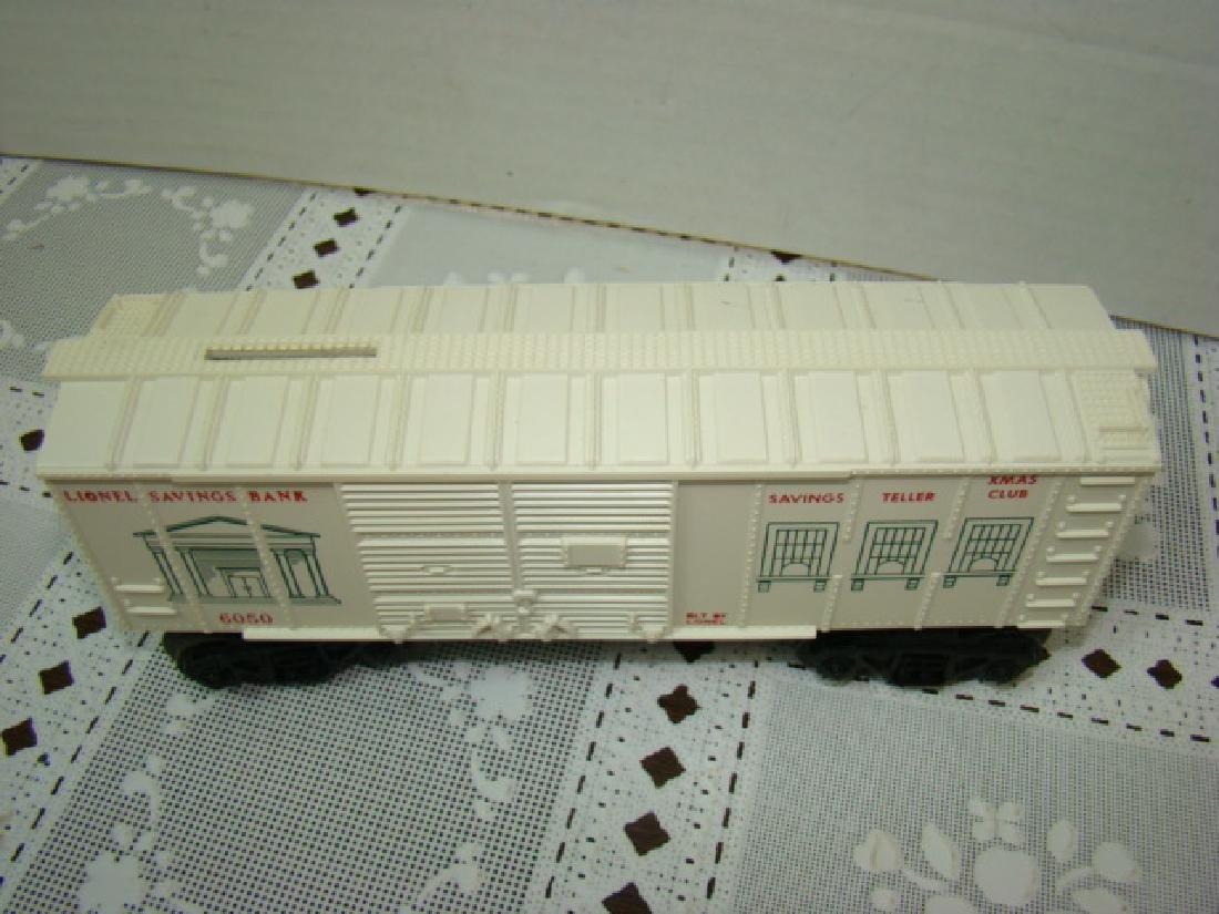 LIONEL TRAINS SAVINGS BANK BOXCAR - 2
