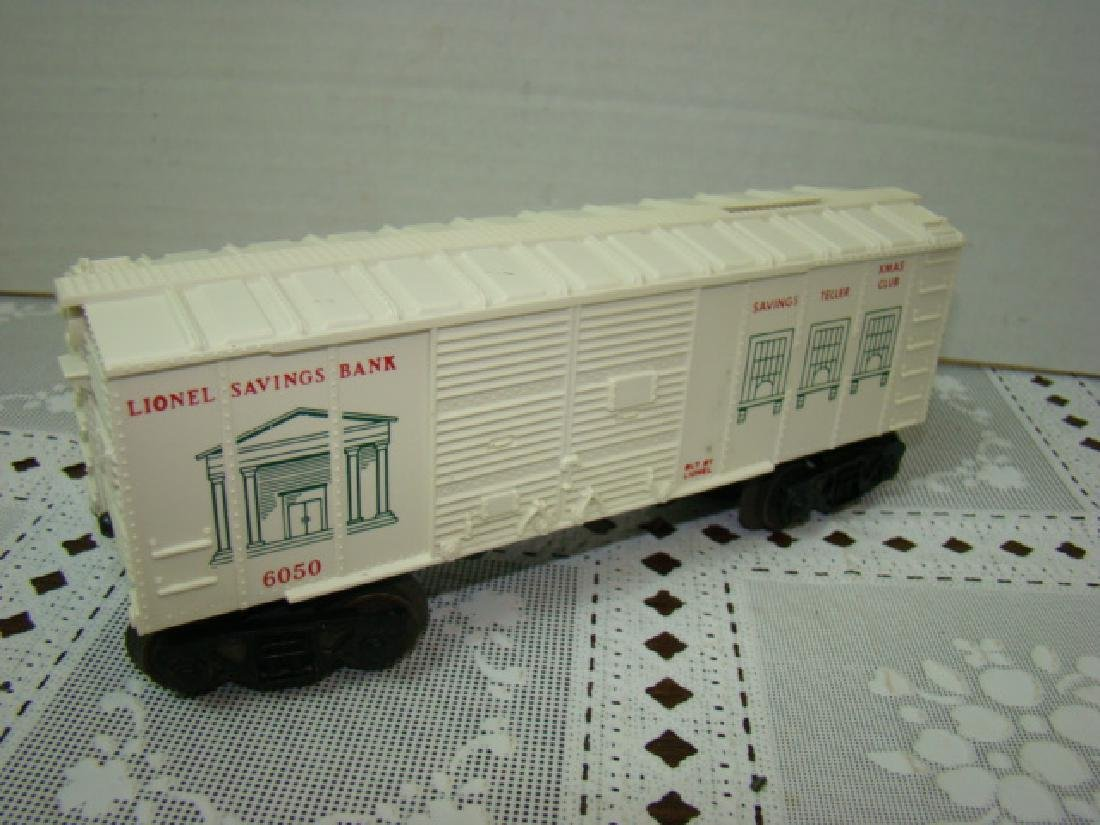 LIONEL TRAINS SAVINGS BANK BOXCAR - 3