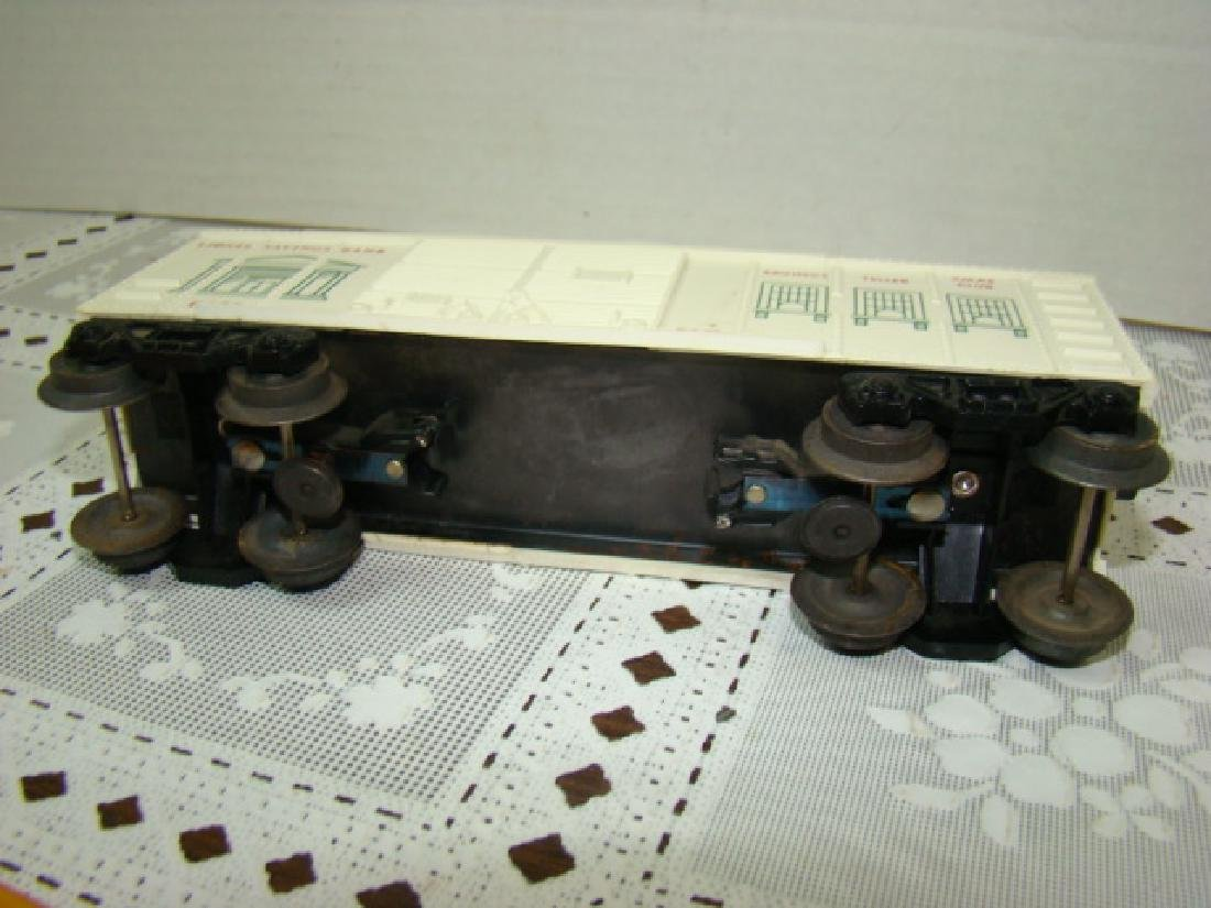 LIONEL TRAINS SAVINGS BANK BOXCAR - 4