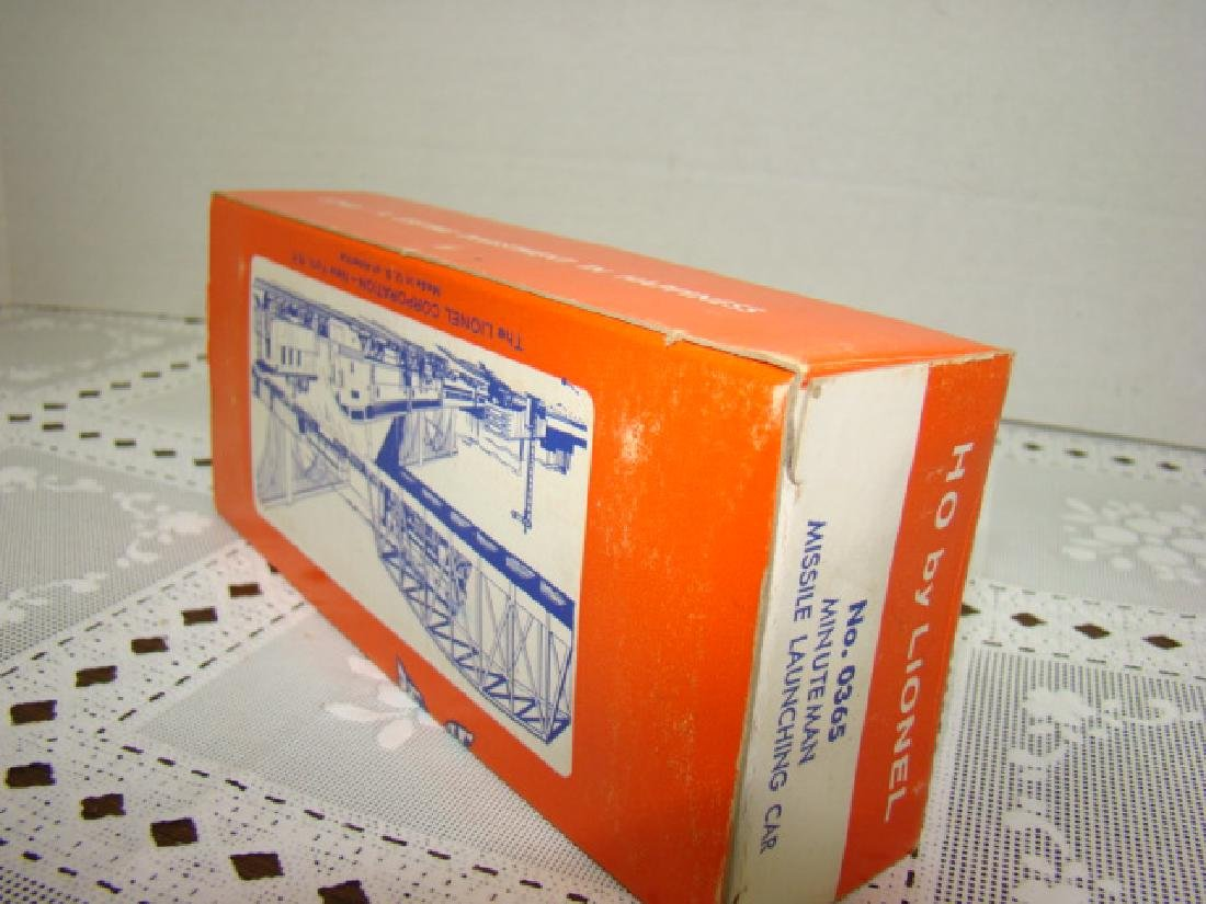 HO TRAIN SCALE  MINUTEMAN MISSILE LAUNCHING CAR BY - 3