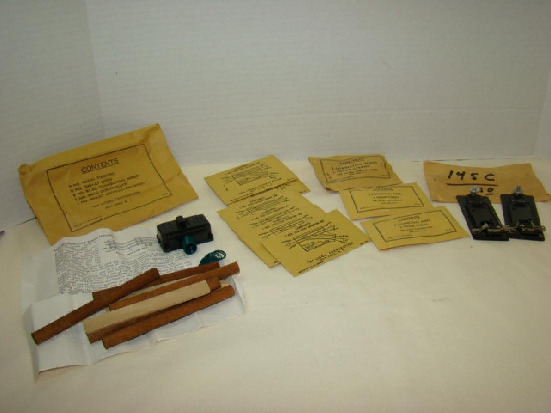 LIONEL ENVELOPE PARTS- SCREWS & WIRES AND MORE