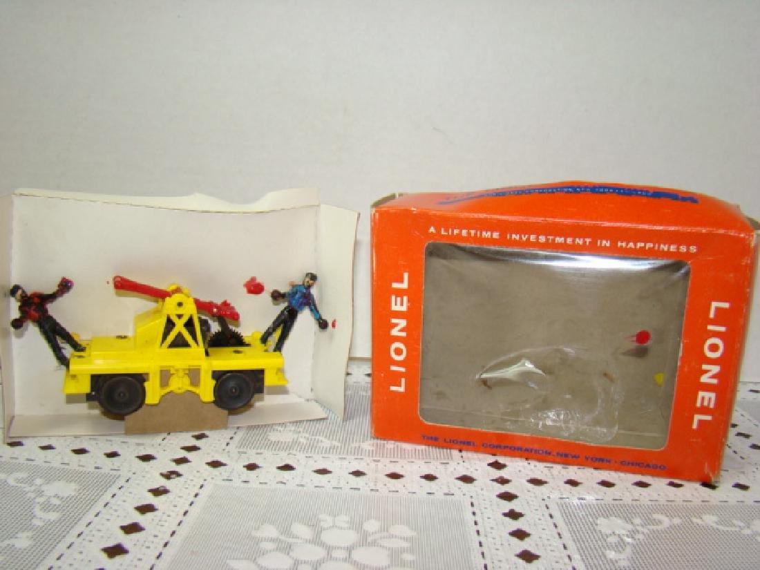 LIONEL TRAINS HO SCALE MOTORIZED HAND CAR NIB