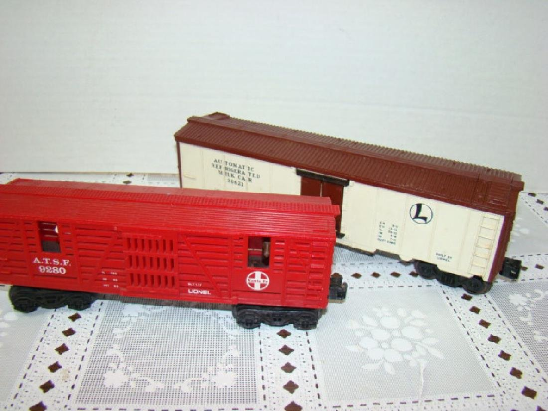 LIONEL SANA FE A.T.S.F.9280 BOX CAR WITH HORSE HEA