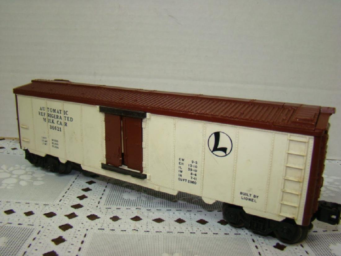LIONEL SANA FE A.T.S.F.9280 BOX CAR WITH HORSE HEA - 2
