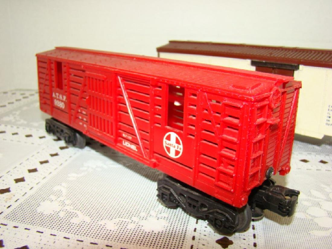 LIONEL SANA FE A.T.S.F.9280 BOX CAR WITH HORSE HEA - 3