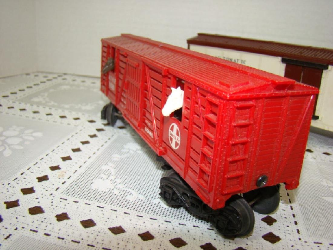 LIONEL SANA FE A.T.S.F.9280 BOX CAR WITH HORSE HEA - 5