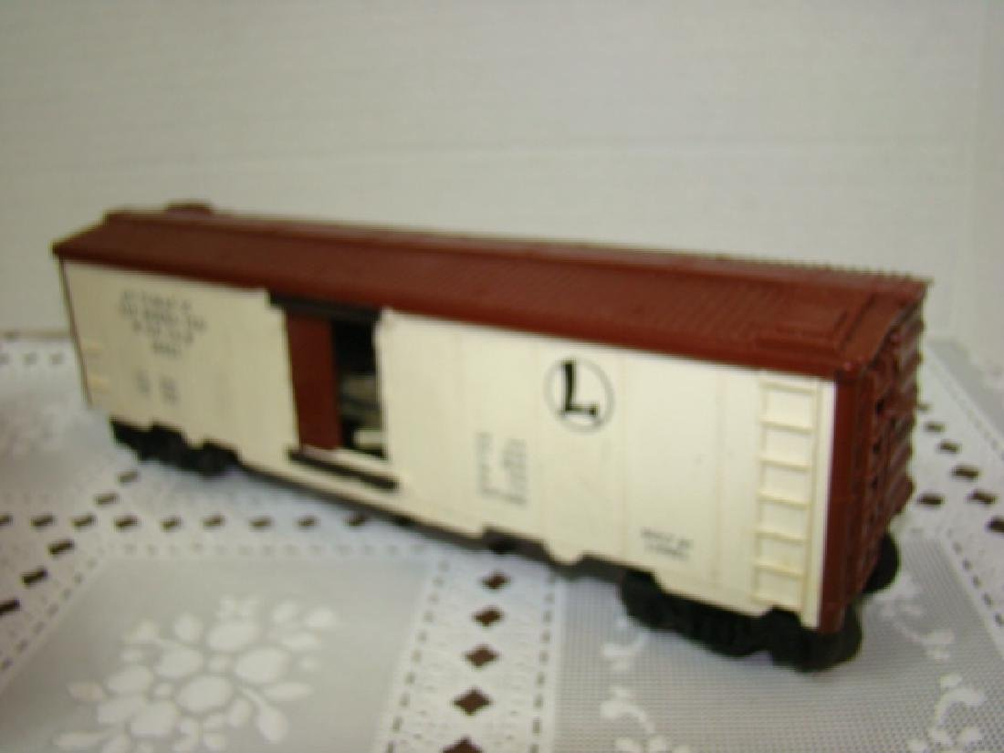 LIONEL SANA FE A.T.S.F.9280 BOX CAR WITH HORSE HEA - 6