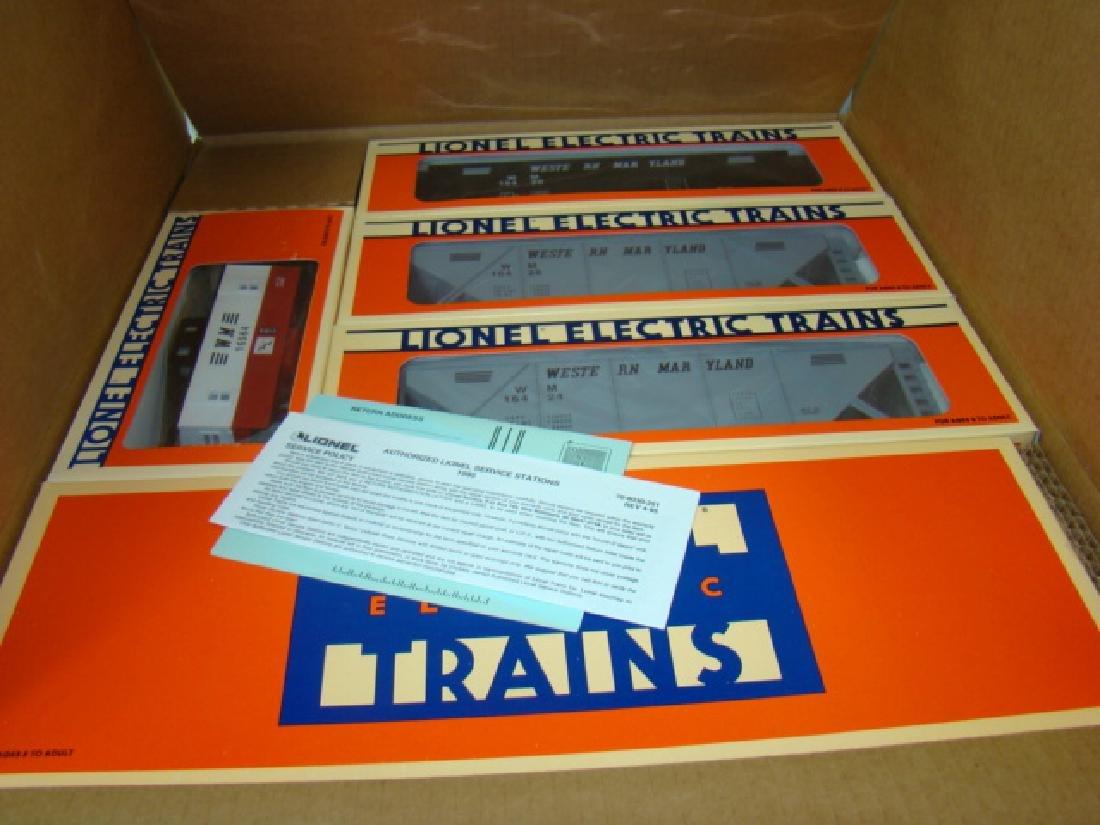 LIONEL ELECTRIC TRAINS - WESTERN MARYLAND O GAUGE - 3