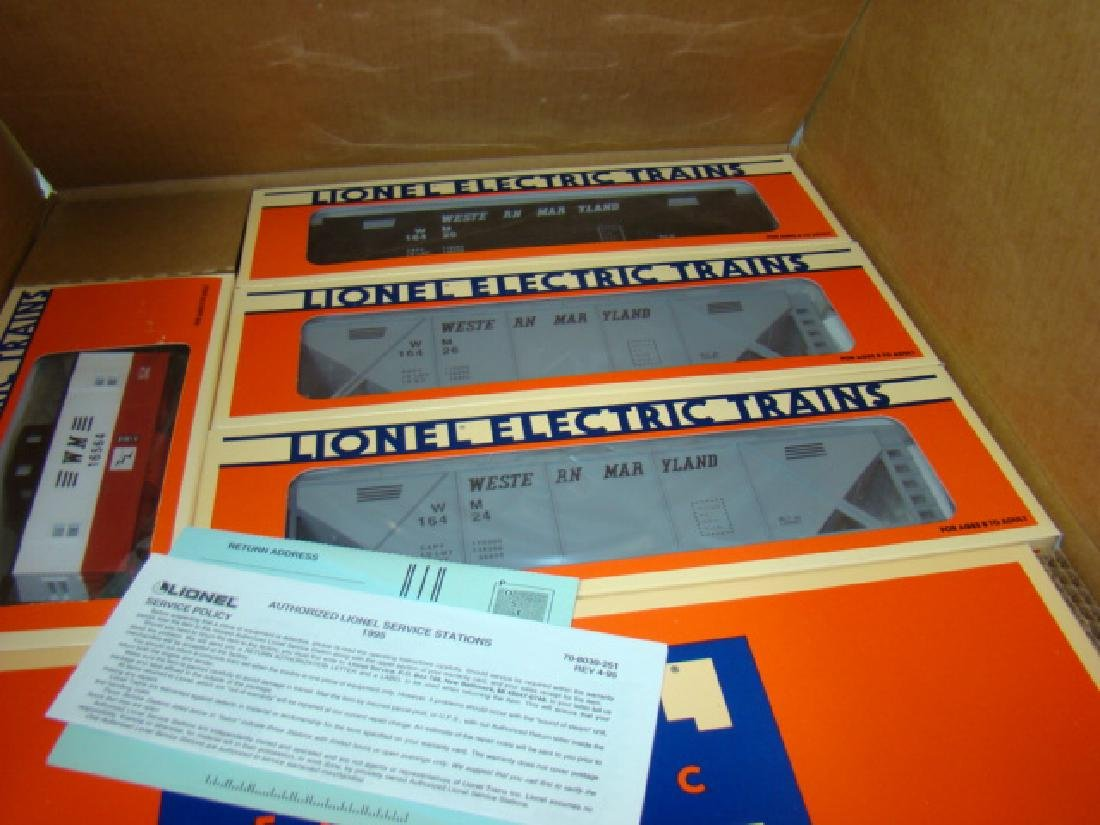 LIONEL ELECTRIC TRAINS - WESTERN MARYLAND O GAUGE - 4