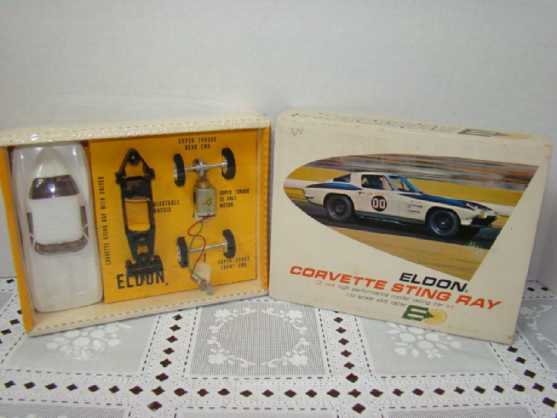 NIB - ELDON SLOT CAR-CORVETTE STING RAY