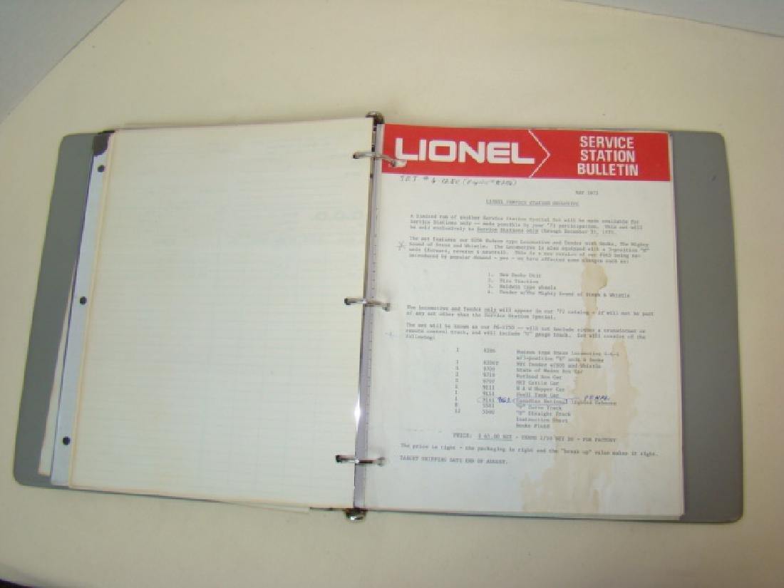 1967-1973 LIONEL CORPORATION SERVICE STATION BULLE