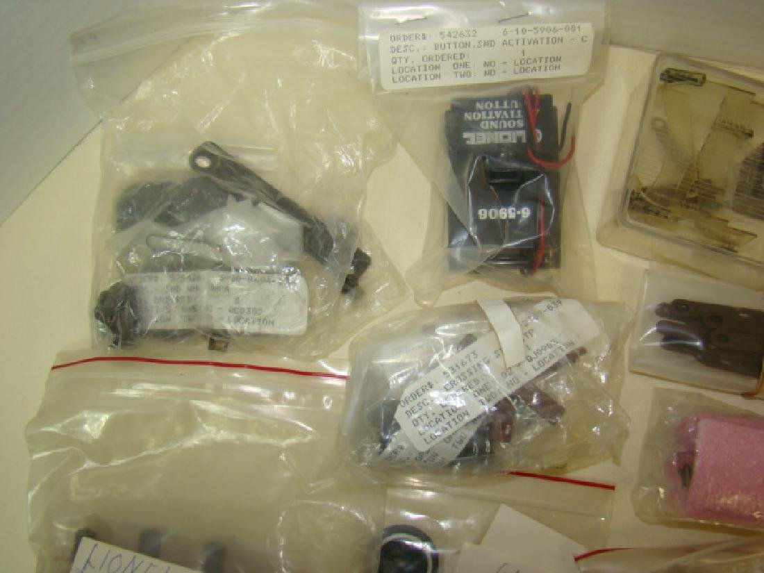LIONEL TRAIN ENGINE ACCESSORIES AND MORE - 6