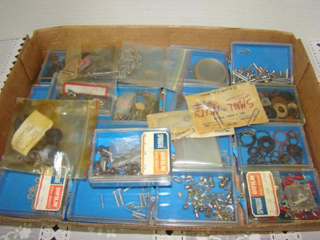 TRAIN/TOY VARIOUS SIZES HARDWARE-WASHERS-NUTS-BOLT