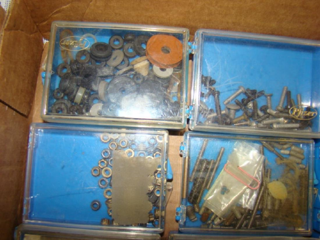 TRAIN/TOY VARIOUS SIZES HARDWARE-WASHERS-NUTS-BOLT - 5
