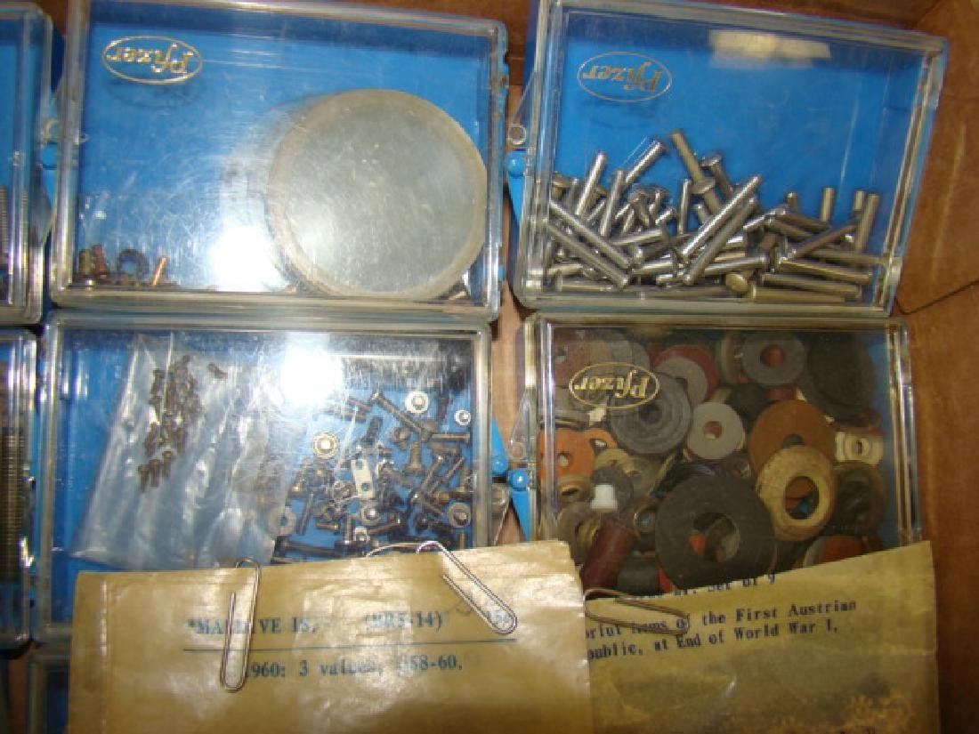 TRAIN/TOY VARIOUS SIZES HARDWARE-WASHERS-NUTS-BOLT - 6