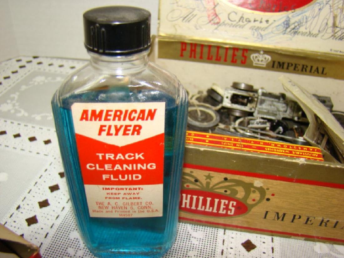 AMERICAN FLYER ACCESSORIES-TRACK CLEANING FLUID-SE - 9
