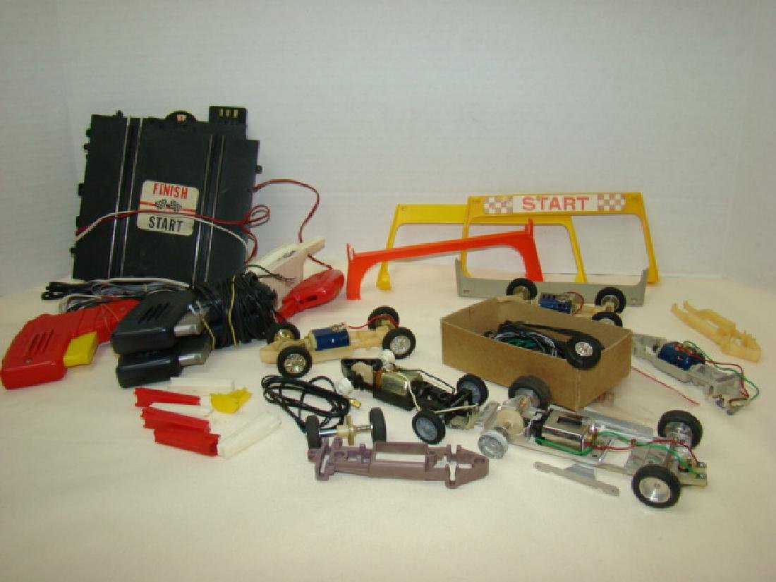 ELDON SLOT CARS PARTS-ENGINES AND ACCESSORIES